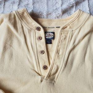 Tommy Bahama Shirts - Tommy Bahama Relax Quarter Button Sweatshirt M
